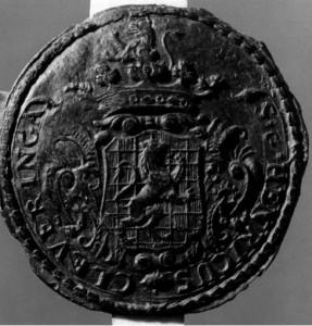 Zegel Henricus Cleveringa 1777