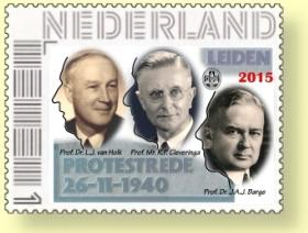 protestrede postzegel